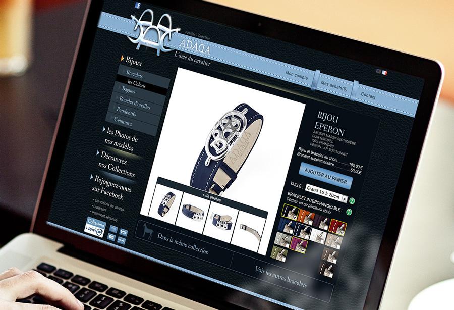ADADA, bijouterie en ligne