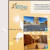 Carte de vœux de l'Office de Tourisme de Reims