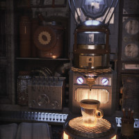 My Steampunk CoffeeMaker