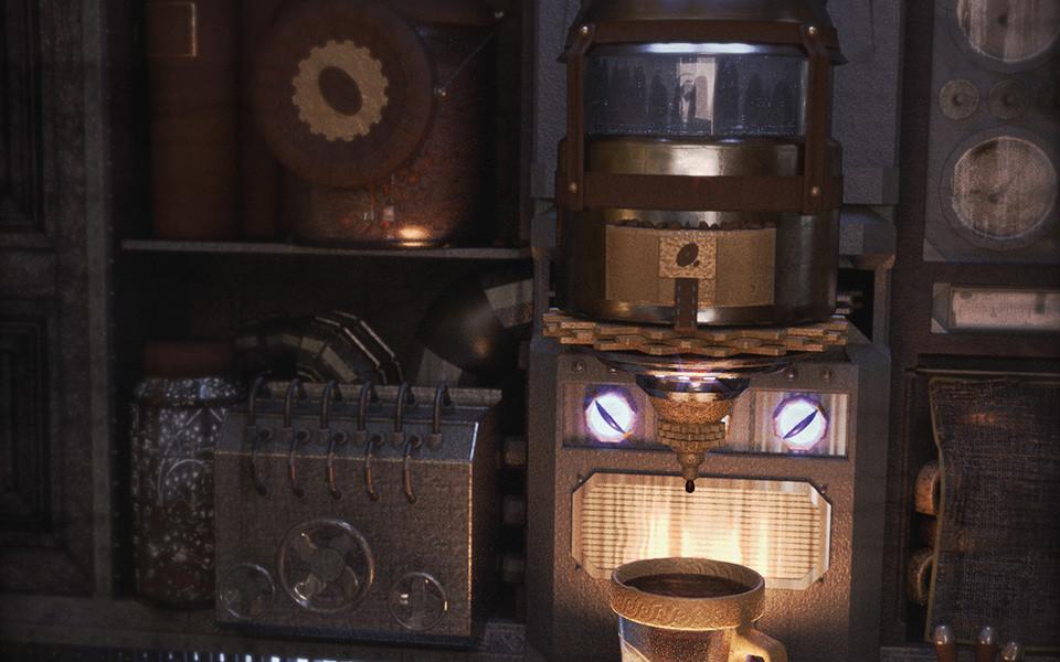 My Steampunk CoffeeMaker 2